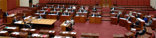 Maiden Speech - Senate